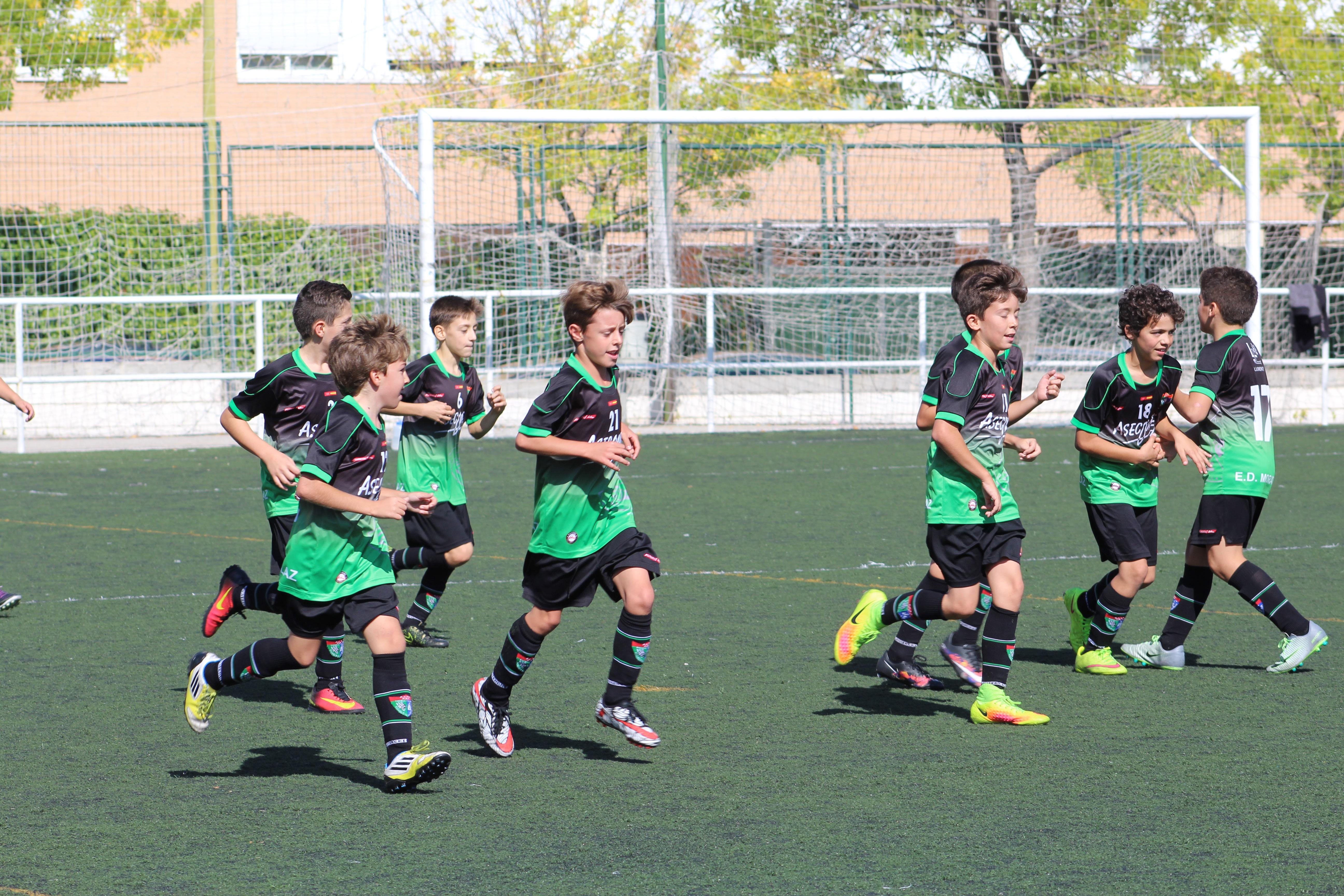 Fotos del partido de liga EDM Alevín B 6 – 2 Adepo Palomeras B