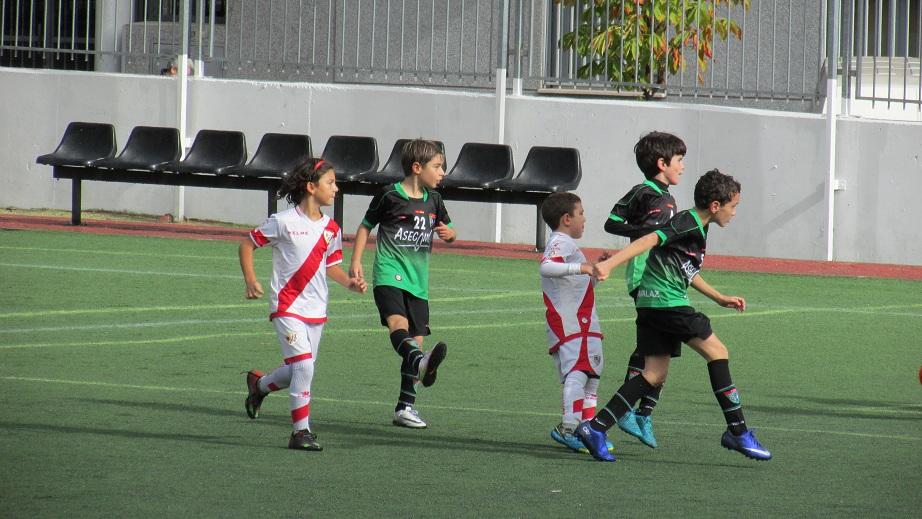 Crónica y fotos del partido Fundación Rayo Vallecano H 1 – 6 Benjamín C
