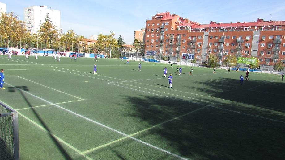 Crónica del partido EF Concepción C 3 – 3 Benjamín C