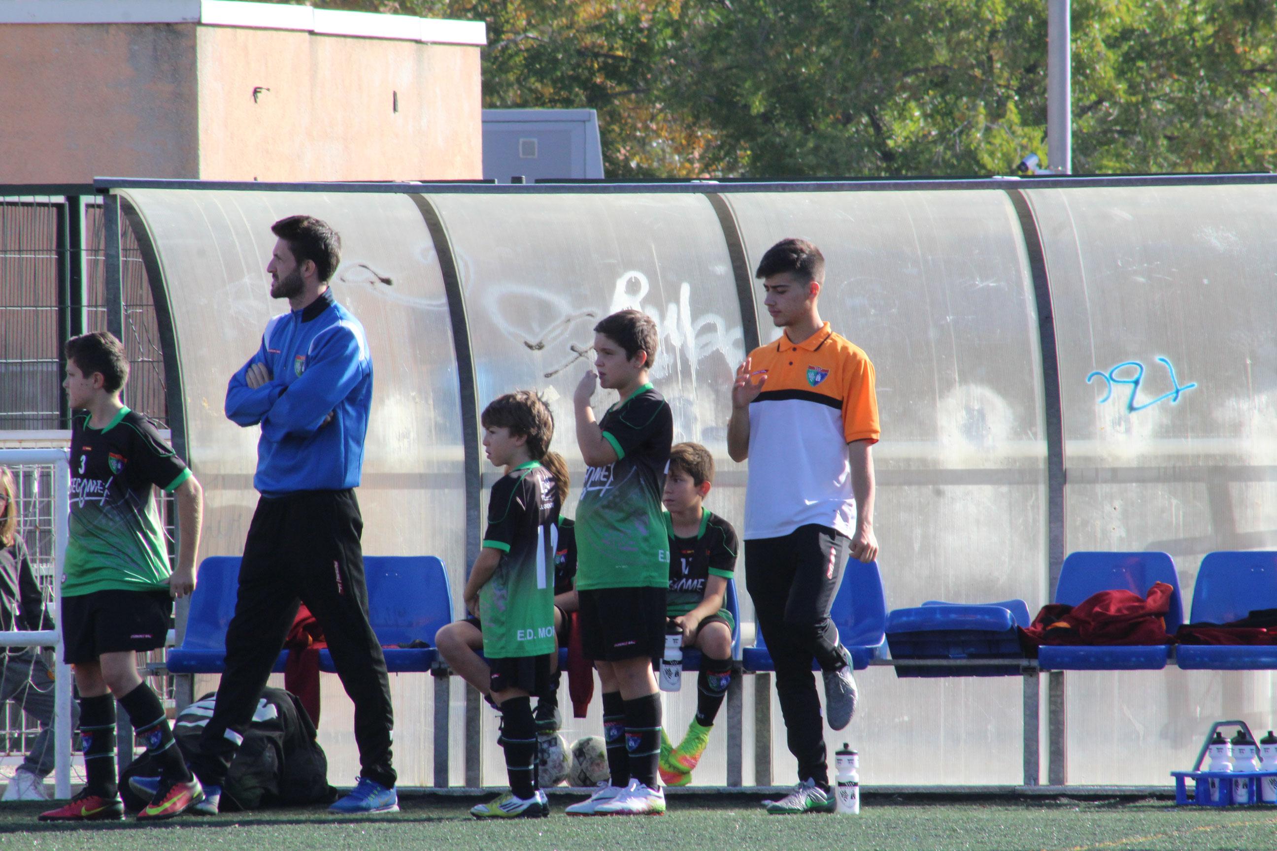 Fotos del partido Alevín B 10 – 1 CD Vicálvaro C