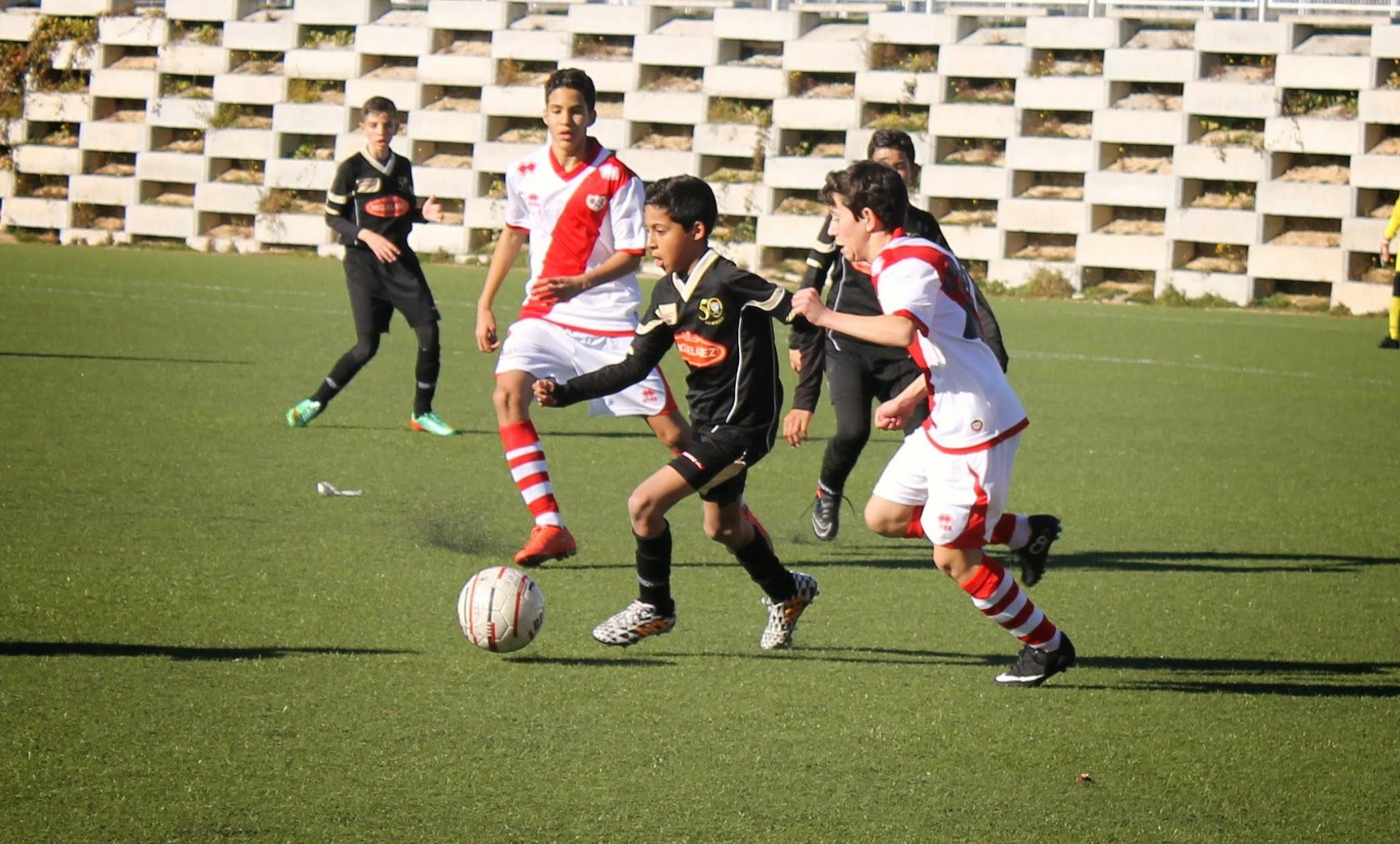 Fotos del Fundación Rayo Vallecano D 1 – 1 EDM Infantil B