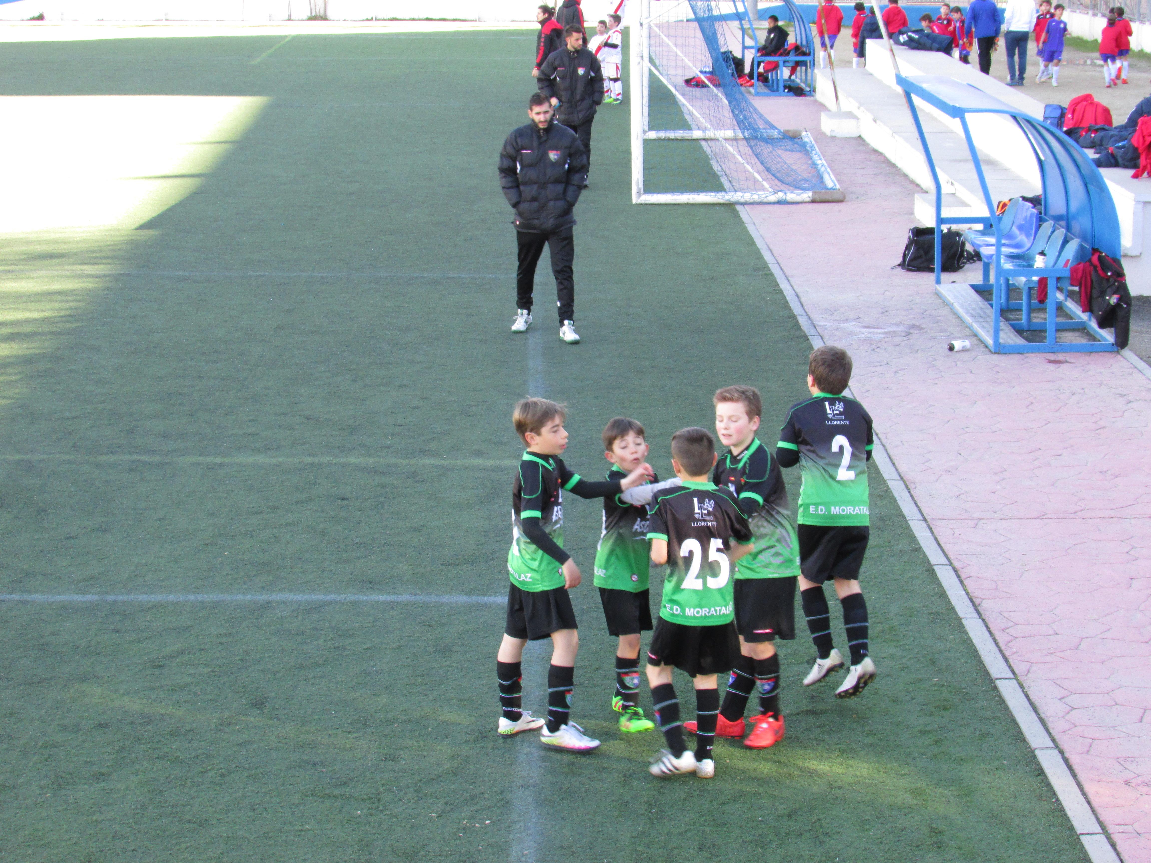 Crónica, fotos y vídeos del partido Benjamín C 11-1 F. Rayo Vallecano H