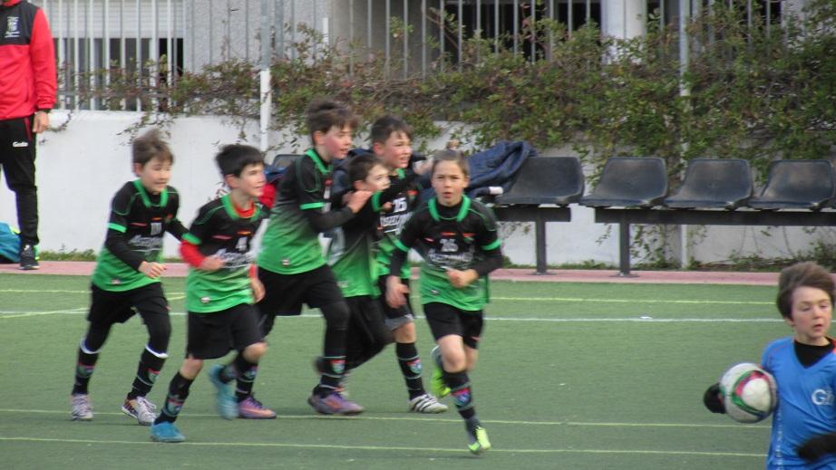 Cronica, fotos y vídeos del partido Gredos San Diego Vallecas M 0-1 Benjamín C