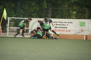 Foto del partido de liga EDM Alevín B - Polígono H San Blas C
