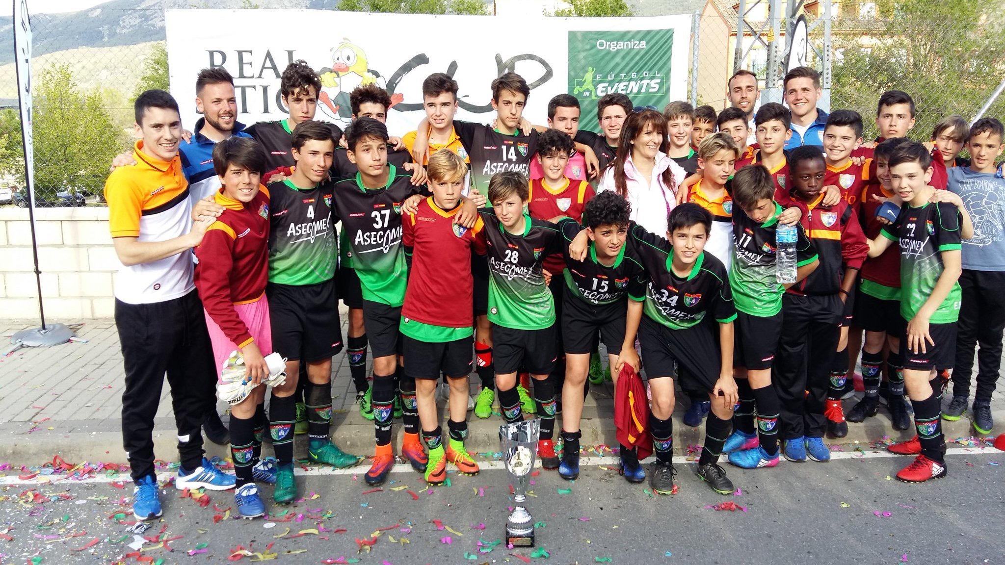 El Infantil A, campeón del Real Sitio Cup 2017