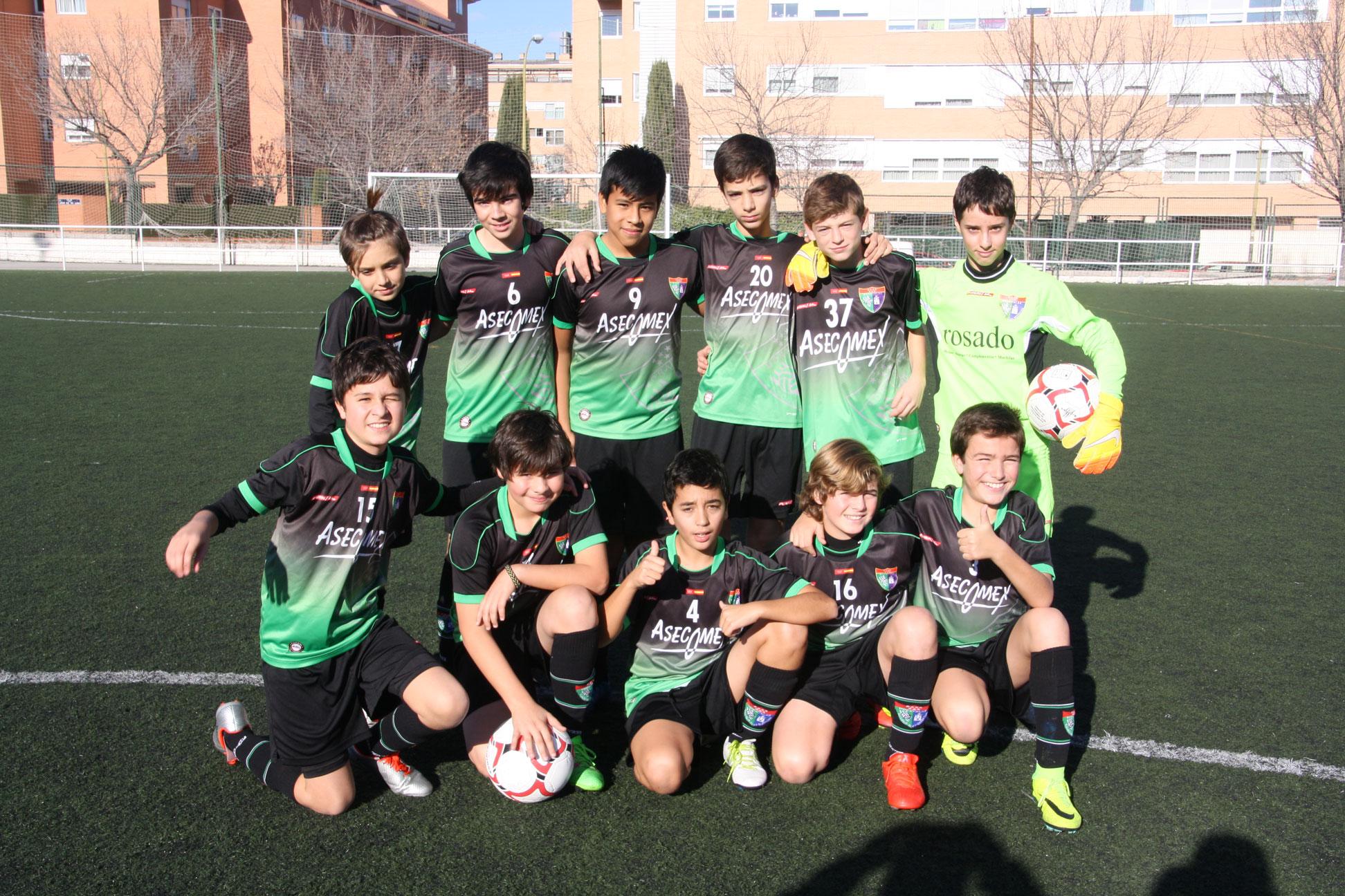 Fotos del partido Infantil E 11-0 ADC Malasaña B