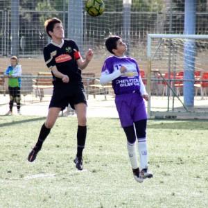 Gran victoria del Cadete B en Riva