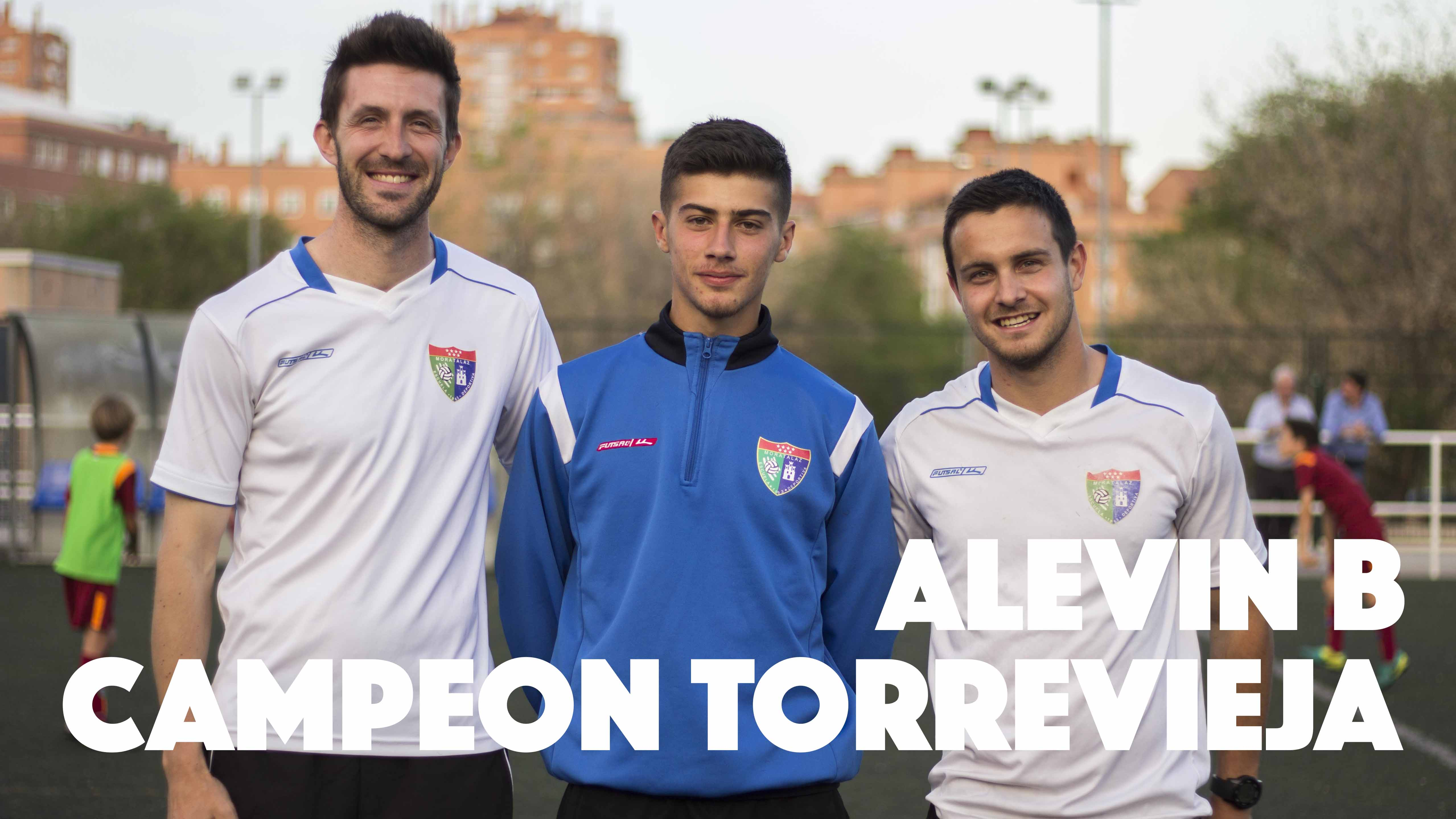 El Alevín B de la EDM, triunfador en Torrevieja