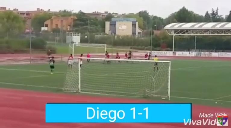 Vídeo con los goles de la EDM en el Rivas FC A 3 – 4 Infantil B