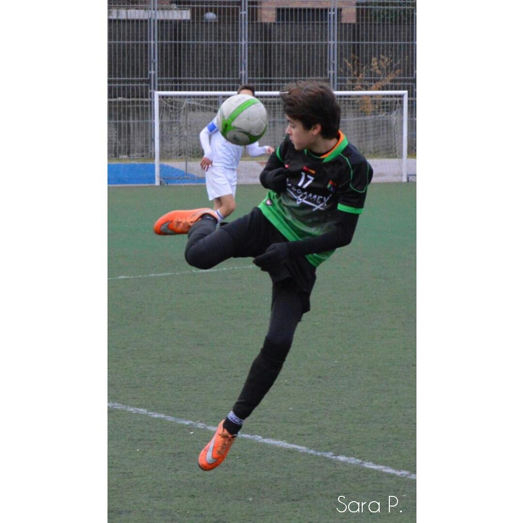 Fotos del partido de liga EDM San Blas D 2 – 2 EDM Infantil E