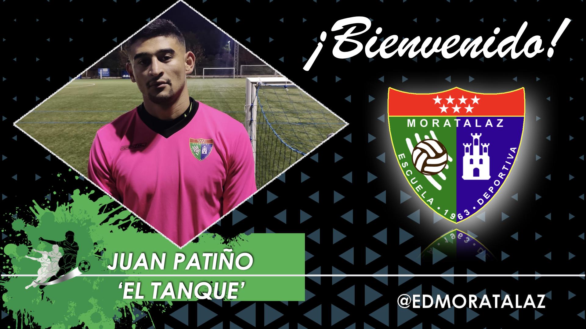 Juan Patiño, 'El Tanque', ficha por el Primer Equipo
