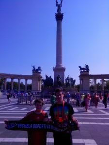 Desde el centro de Budapest