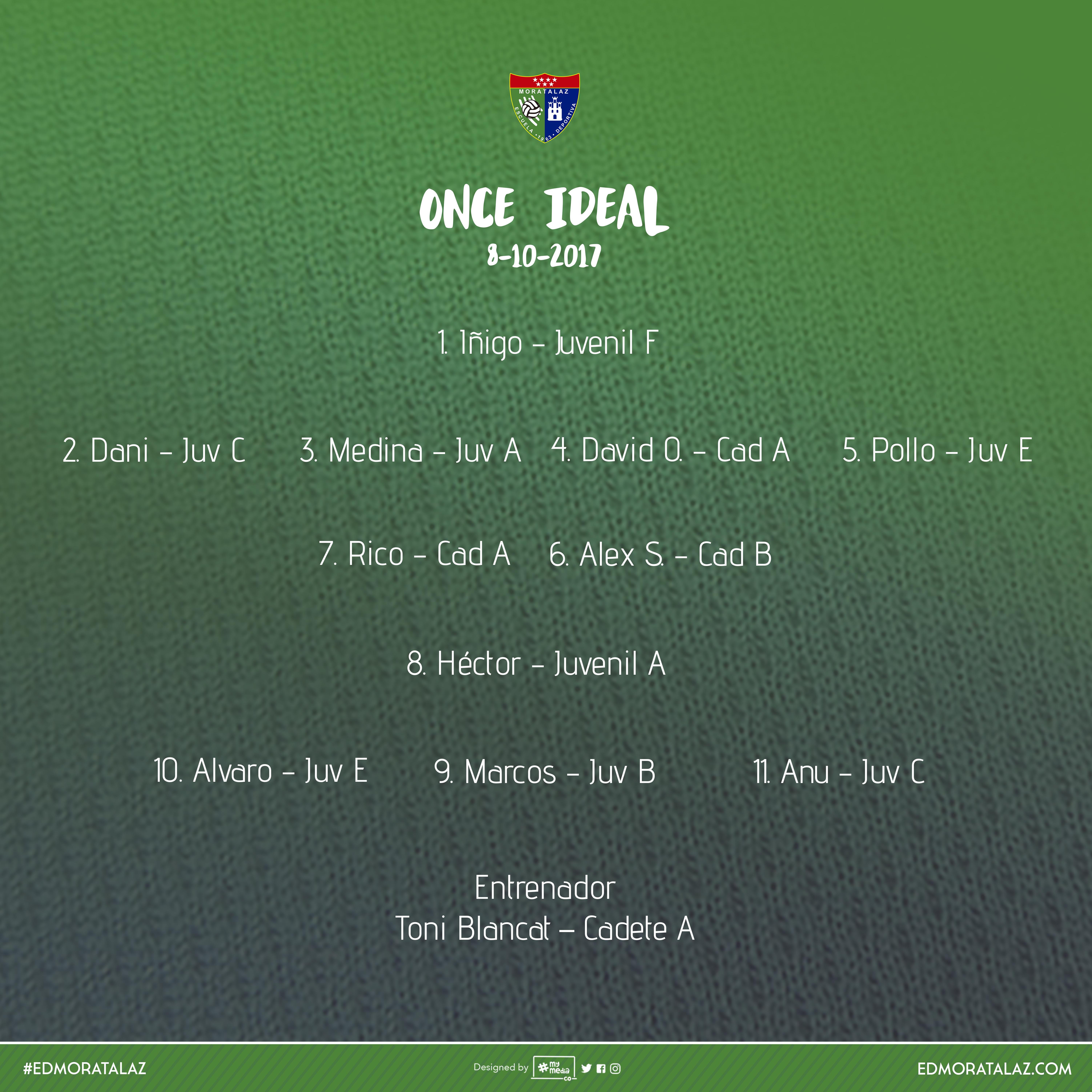11 Ideal EDM del fin de semana 7-8 octubre, Temporada 2017/18