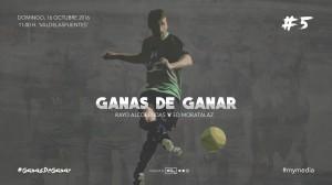 Cartel Rayo Alcobendas - Primer Equipo
