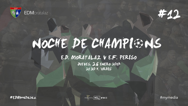 El Primer Equipo vivirá su particular 'Noche de Champions' ante el Periso
