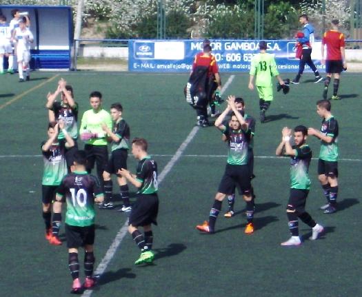 Crónica y fotos del partido de liga EDM Juvenil D 2 – 2 Sport Villa Vallecas