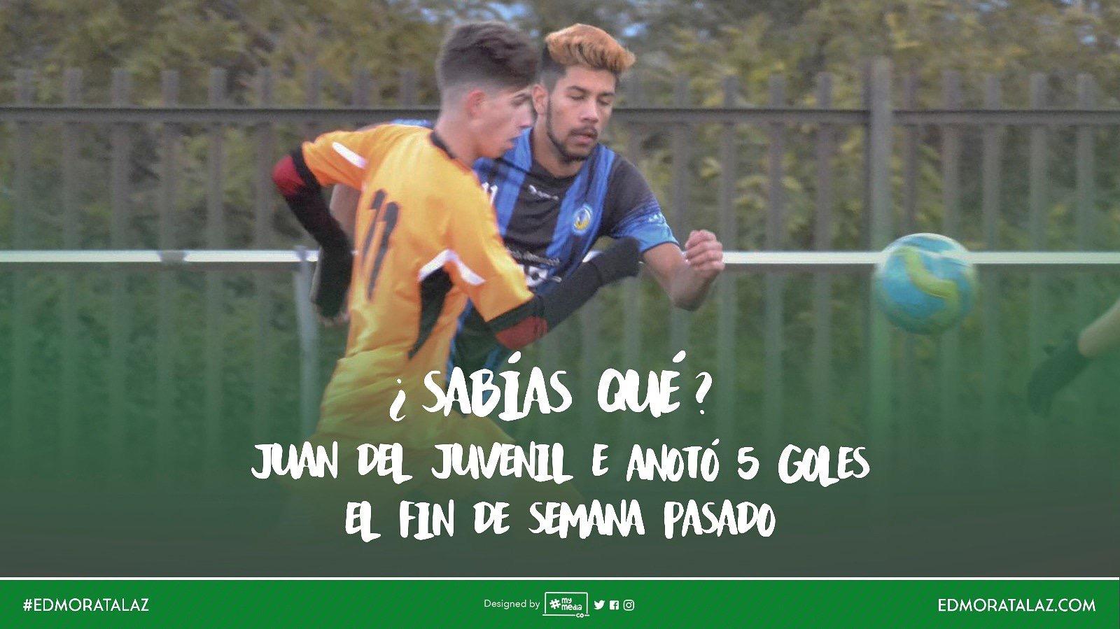 Entrevista | Juan Pérez del Juvenil E… ¡5 goles!