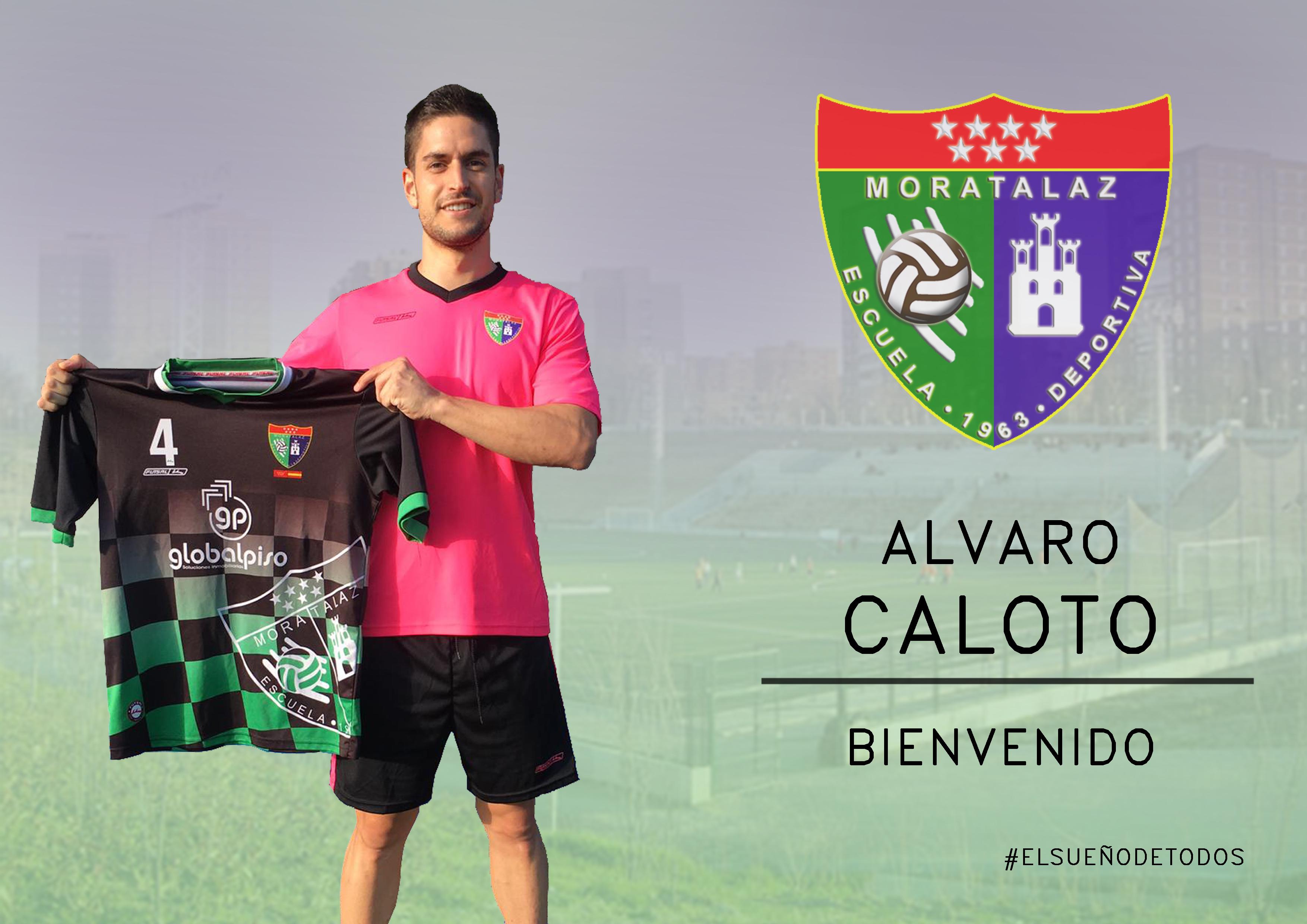 Oficial: Alvaro Caloto, nuevo jugador de la EDM