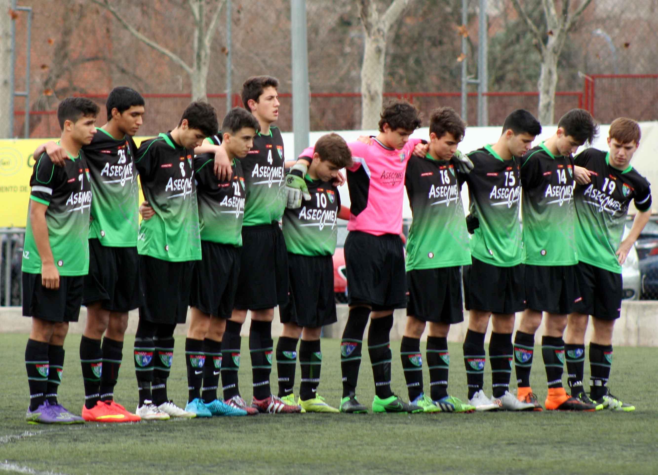 Fotos del partido de liga CD Leganés A 0 – 2 EDM Cadete A