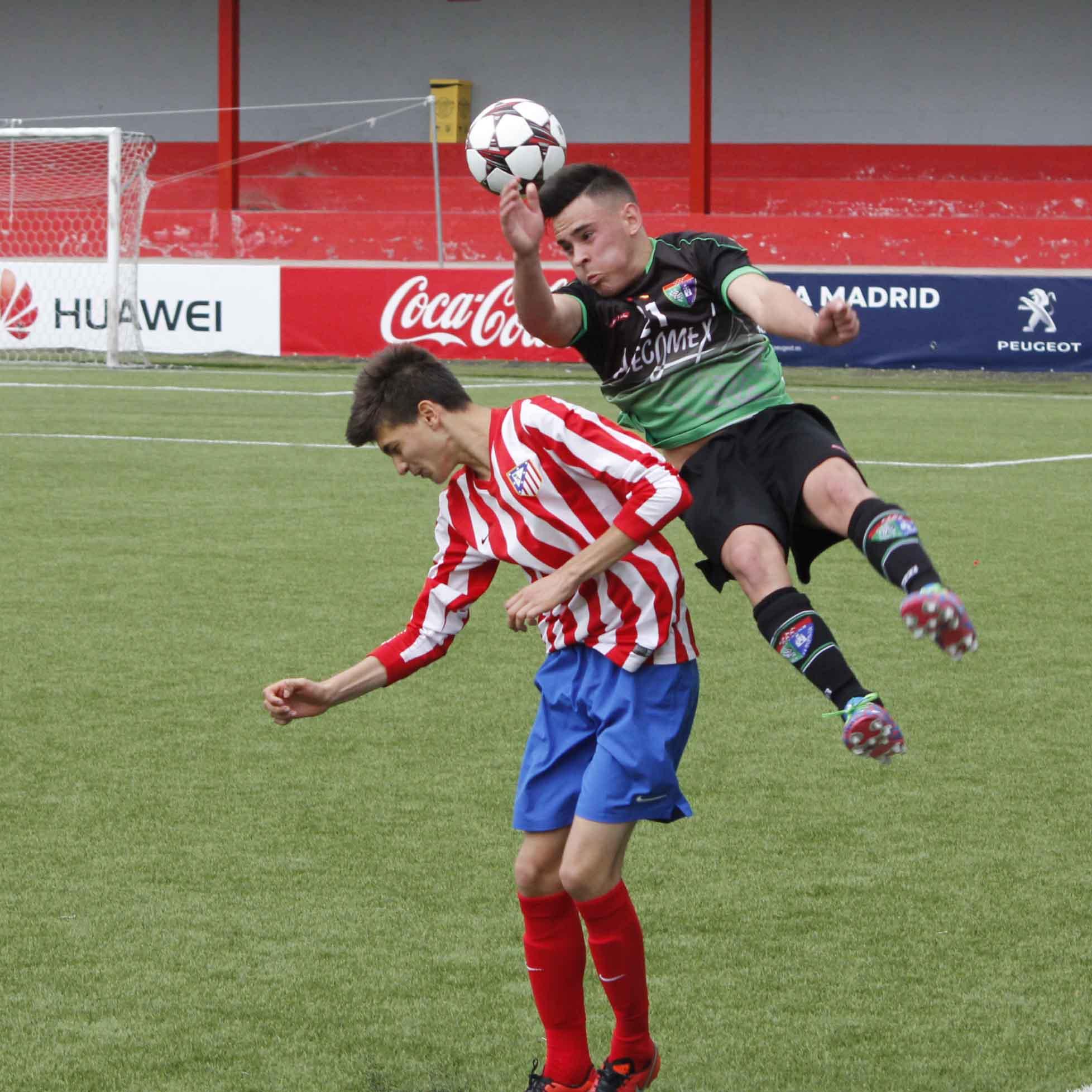 Fotos del partido de liga Atlético Madrileño 1 – 1 EDM Cadete A