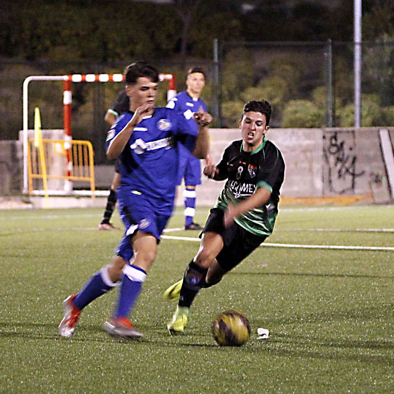 Fotos del partido de liga EDM Juvenil B 2 – 0 Getafe CF C
