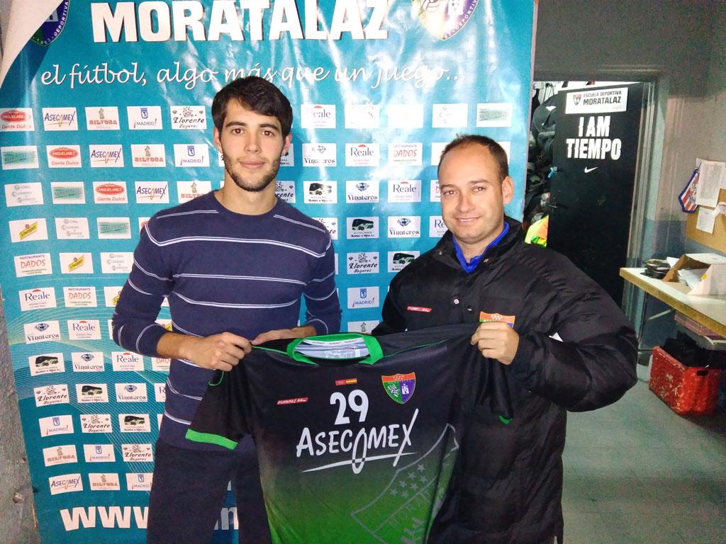 Cristian Mora, nuevo jugador del Primer Equipo
