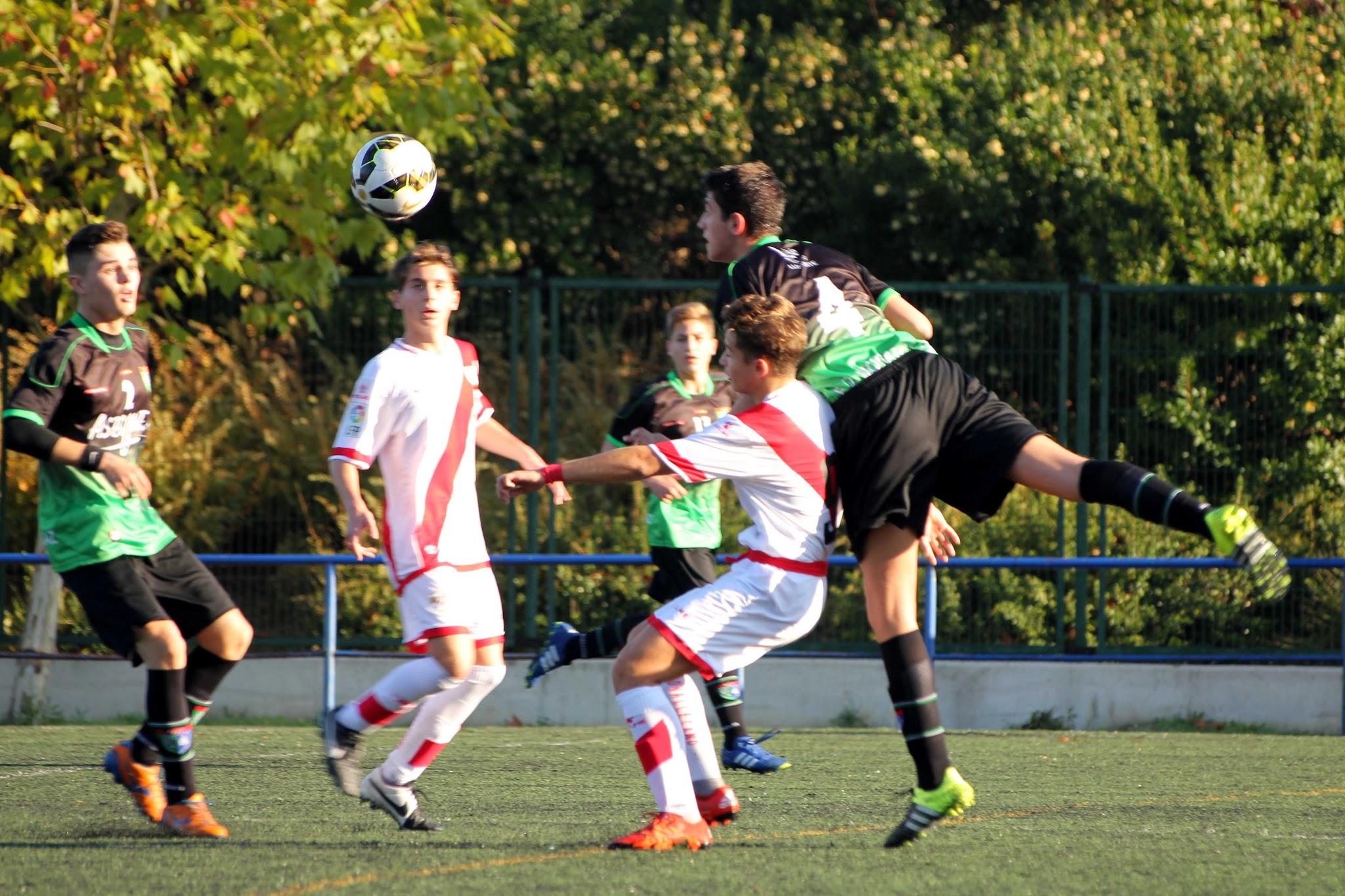 Fotos del partido de liga EDM Cadete A 0 – 4 Rayo Vallecano A