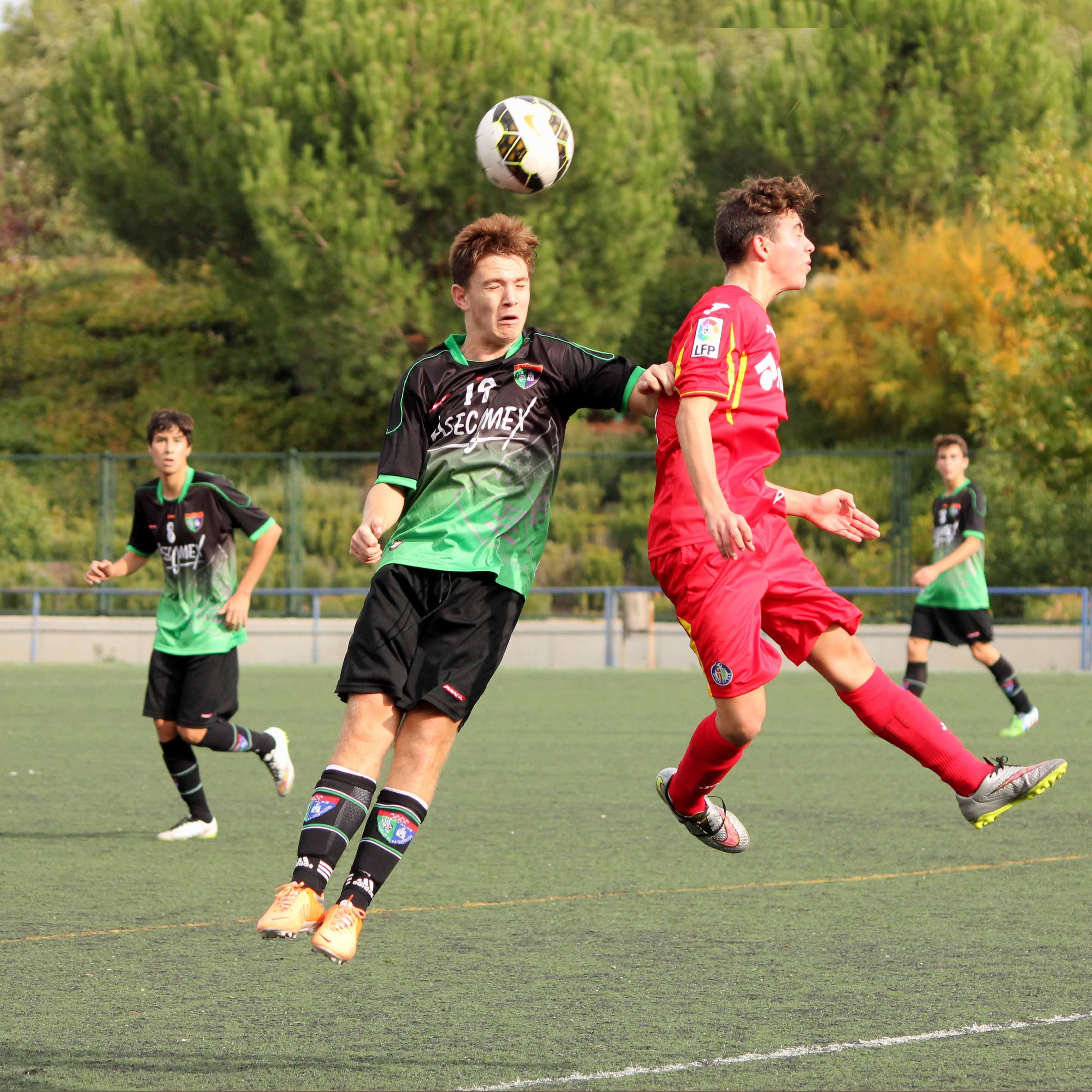 Fotos del partido de liga EDM Cadete A 1 – 0 Getafe CF A