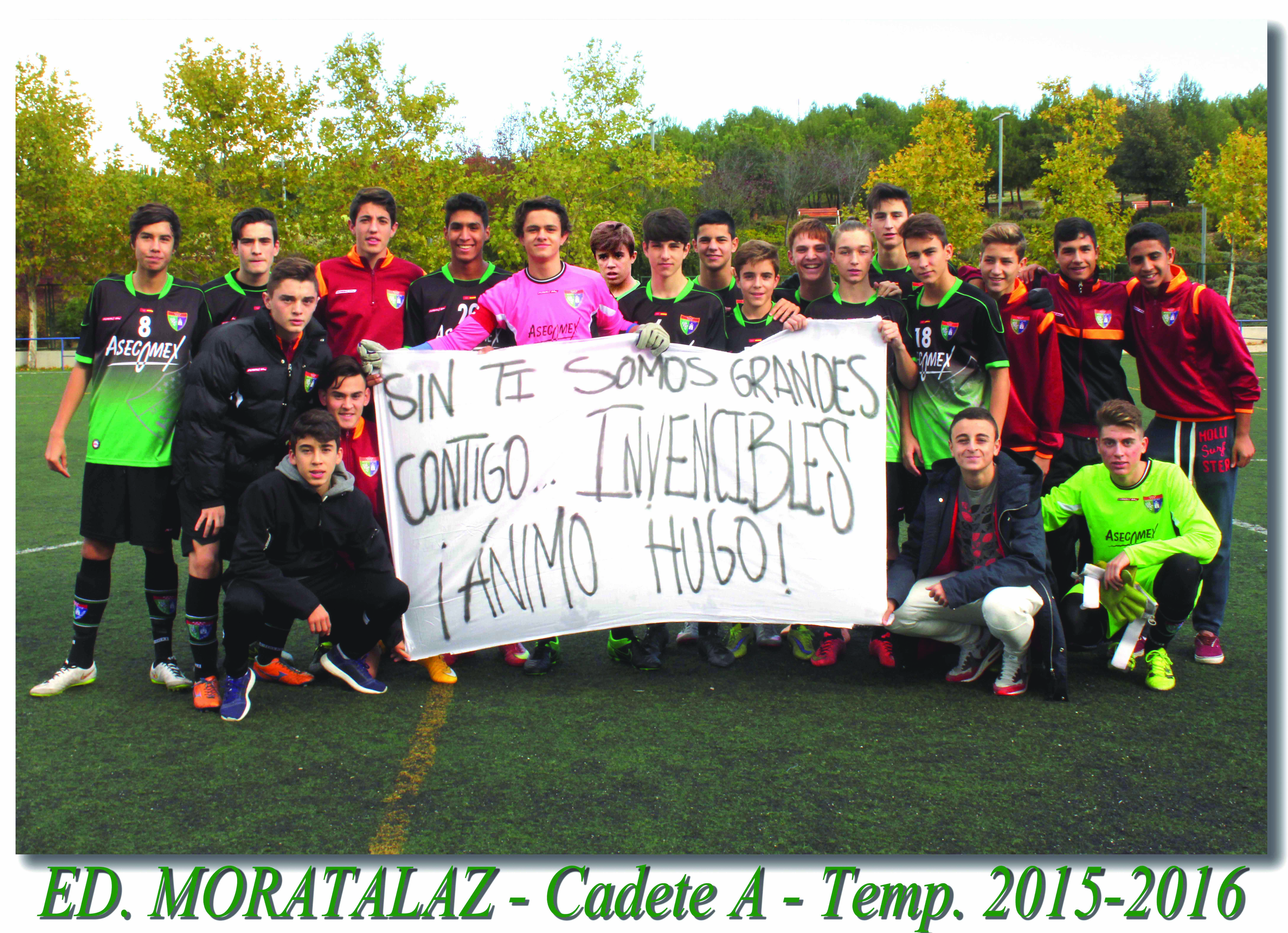 Fotos del partido de liga EDM Cadete A 1 – 1 Trival Valderas A
