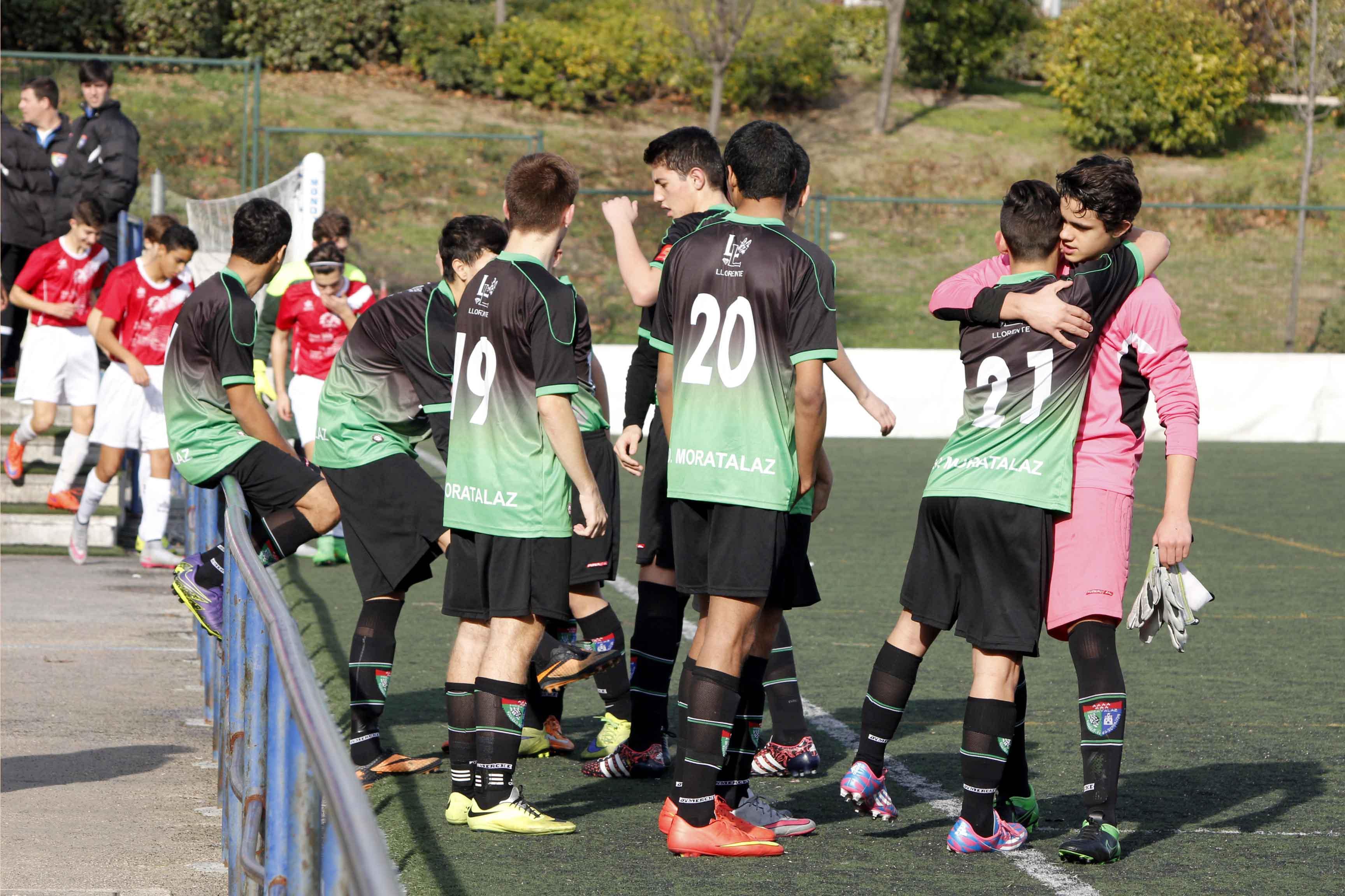 Fotos del partido de liga EDM Cadete A 2 – 0 El Bercial A
