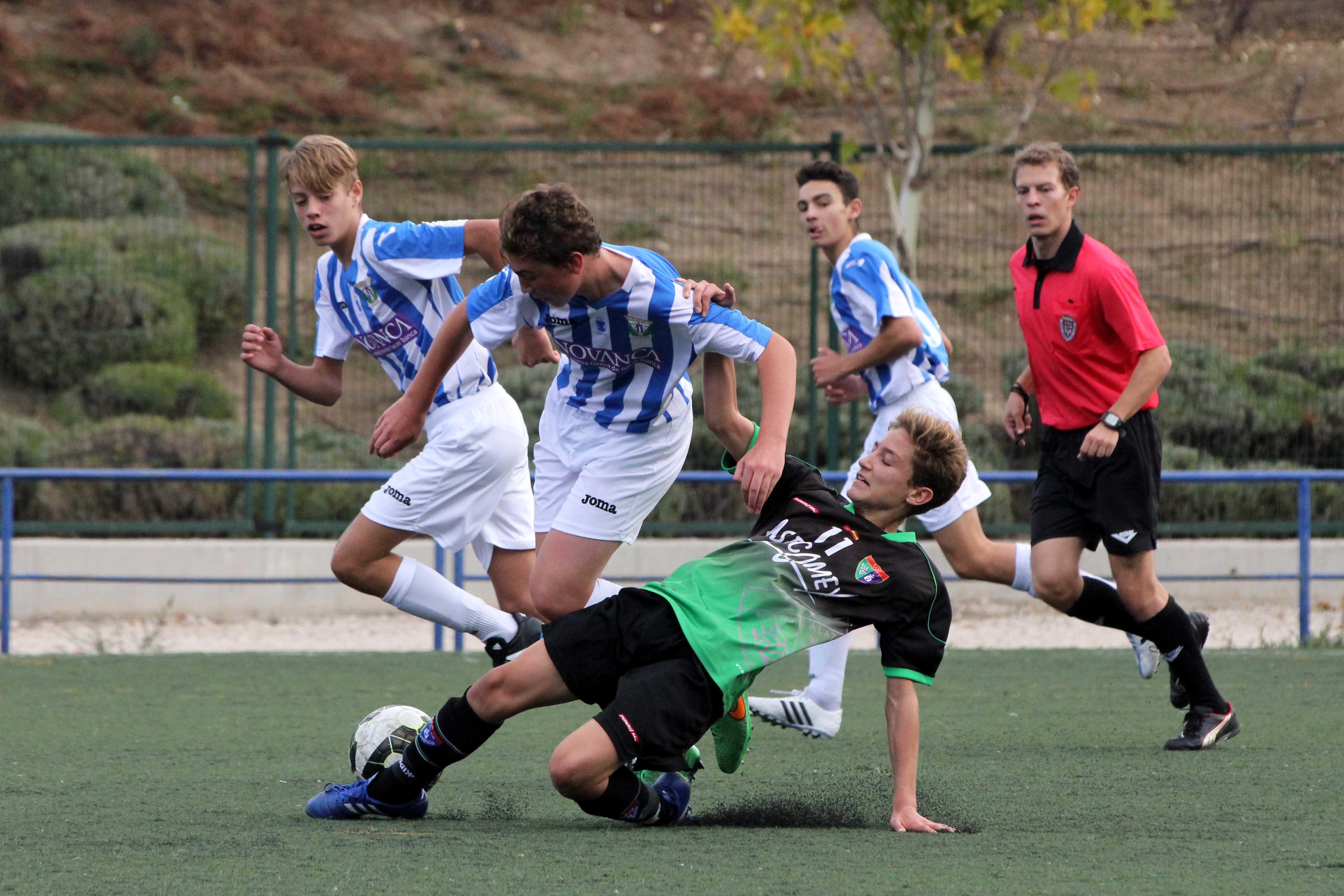 Fotos del partido de liga EDM Cadete A 3 – 0 Leganés A