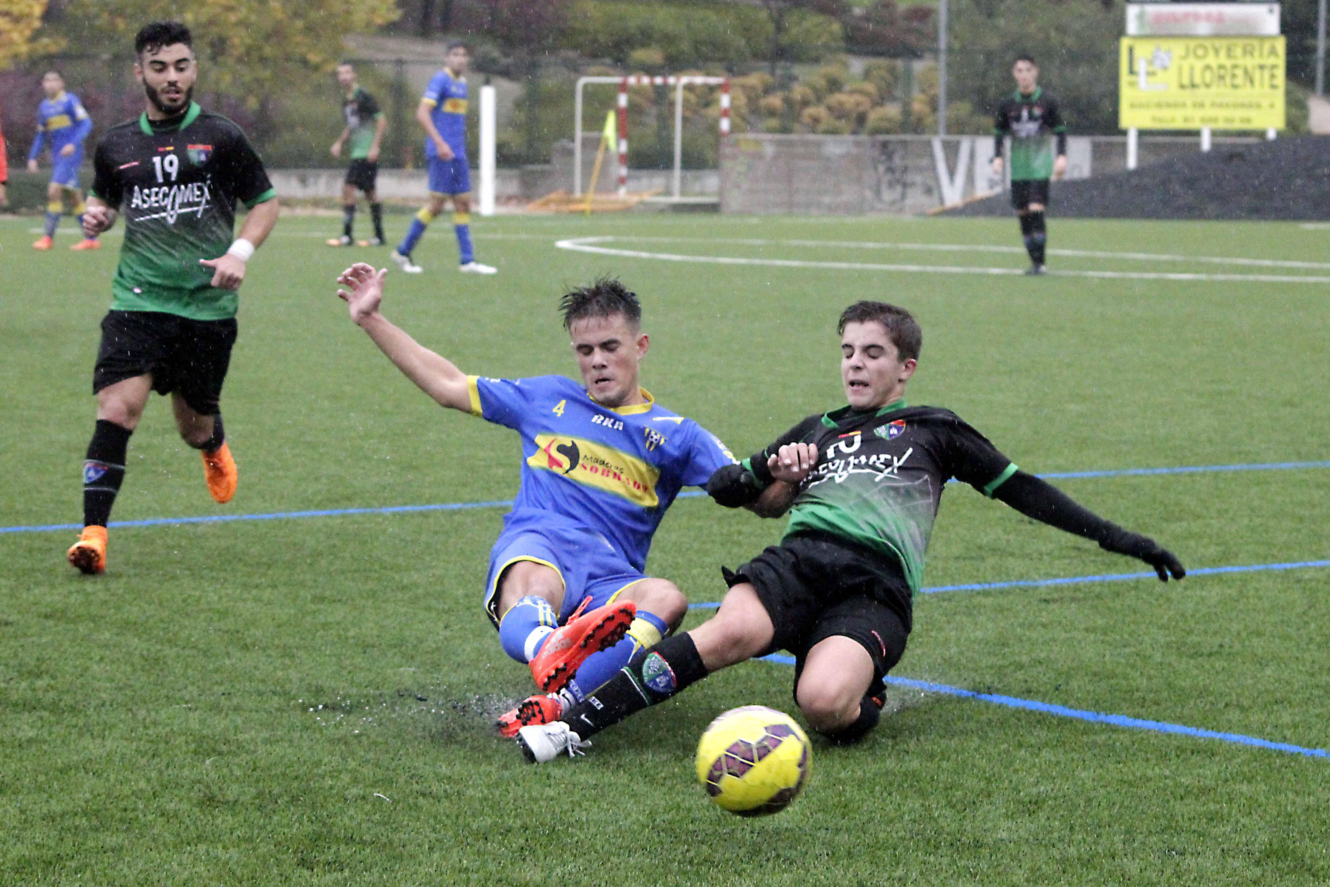 Fotos del partido Juvenil B 5 – 5 CDE Lugo Fuenlabrada A
