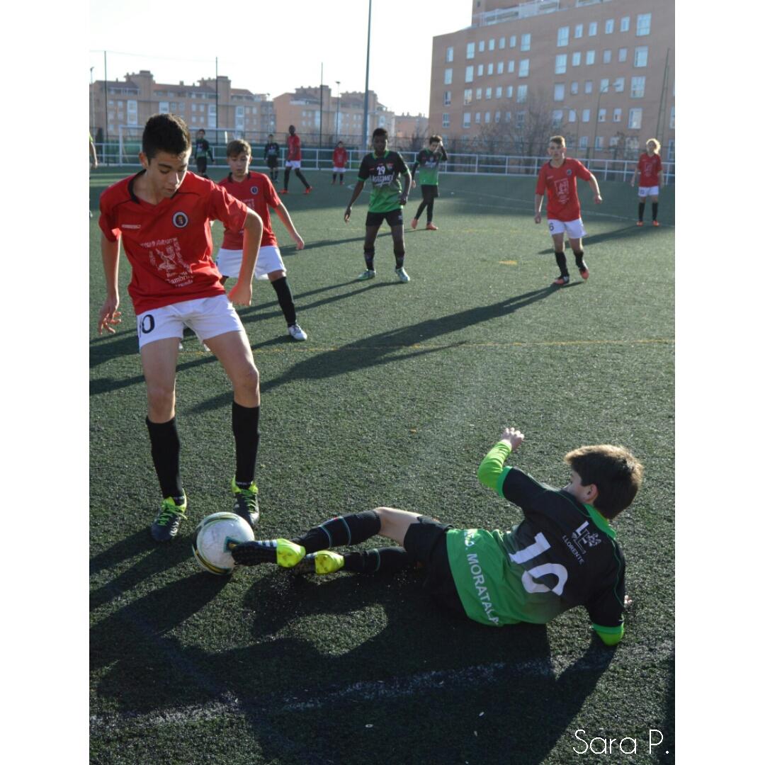 Fotos del partido de liga EDM Infantil E 0 – 2 EF Arganda C