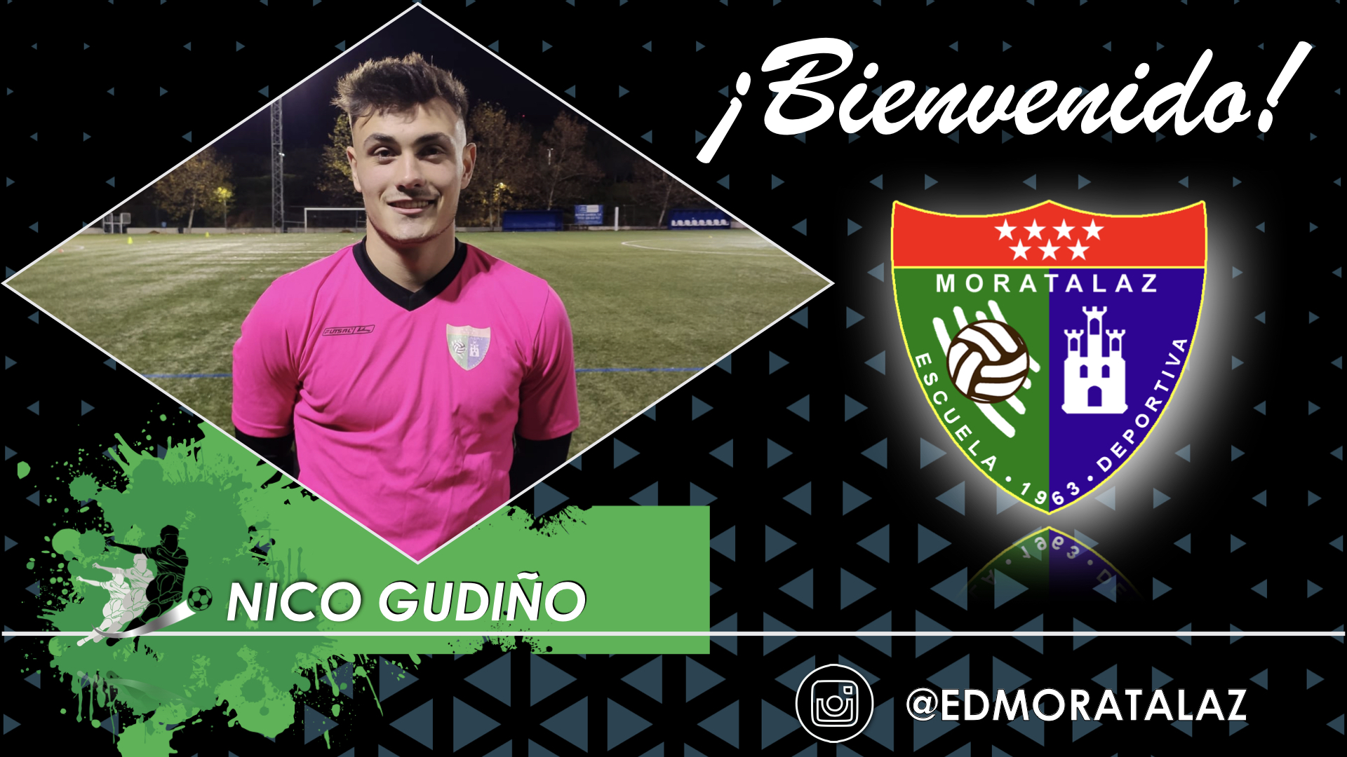 Nico Gudiño, nuevo fichaje del Primer Equipo