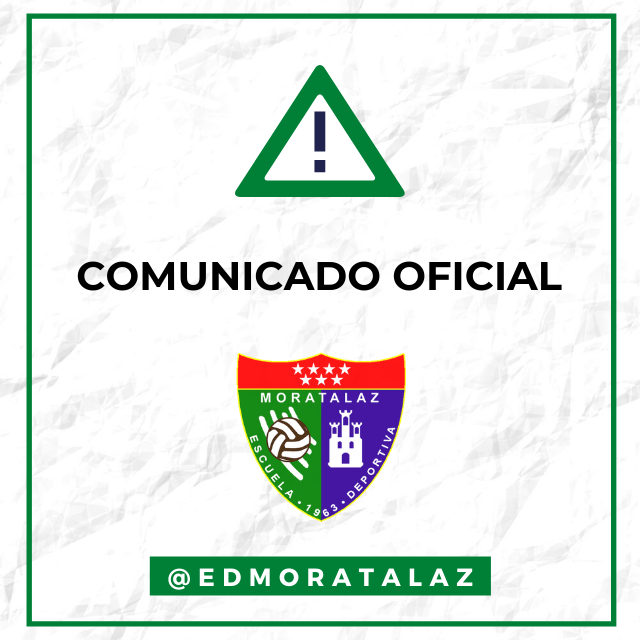 Comunicado Oficial | Suspendidos los encuentros frente al CF Pozuelo y AD Complutense