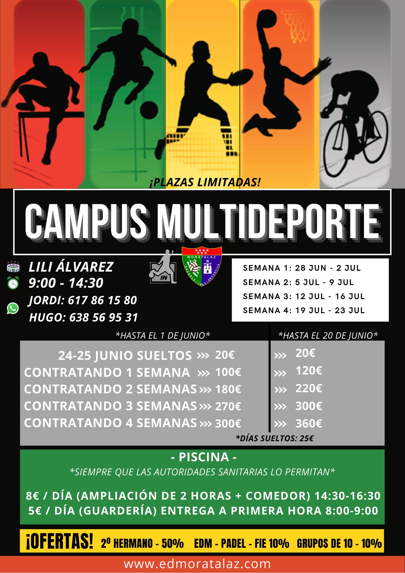 ¡Campus Multideporte EDM!