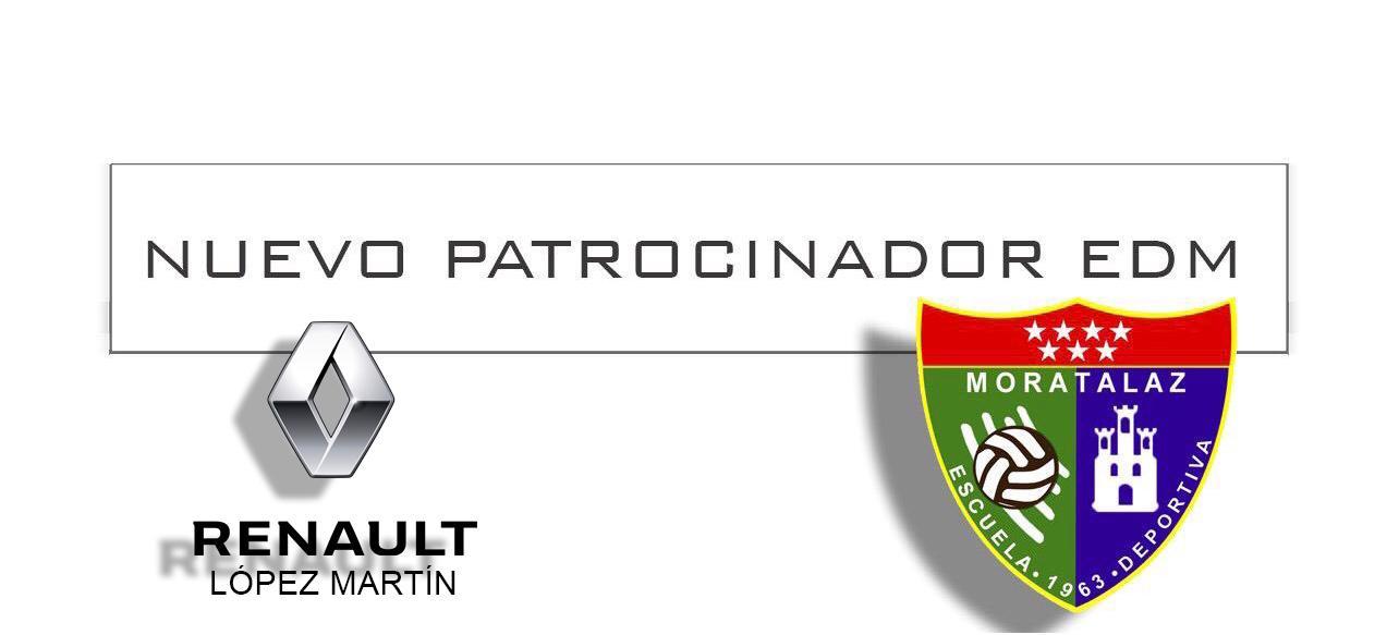 Nuevo patrocinador EDM | Renault López Martín