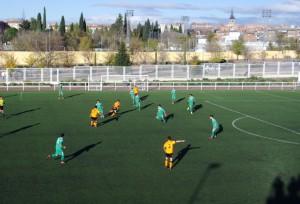 Crónica y fotos del Spor Villa Vallecas 1 - 3 EDM  Juvenil D