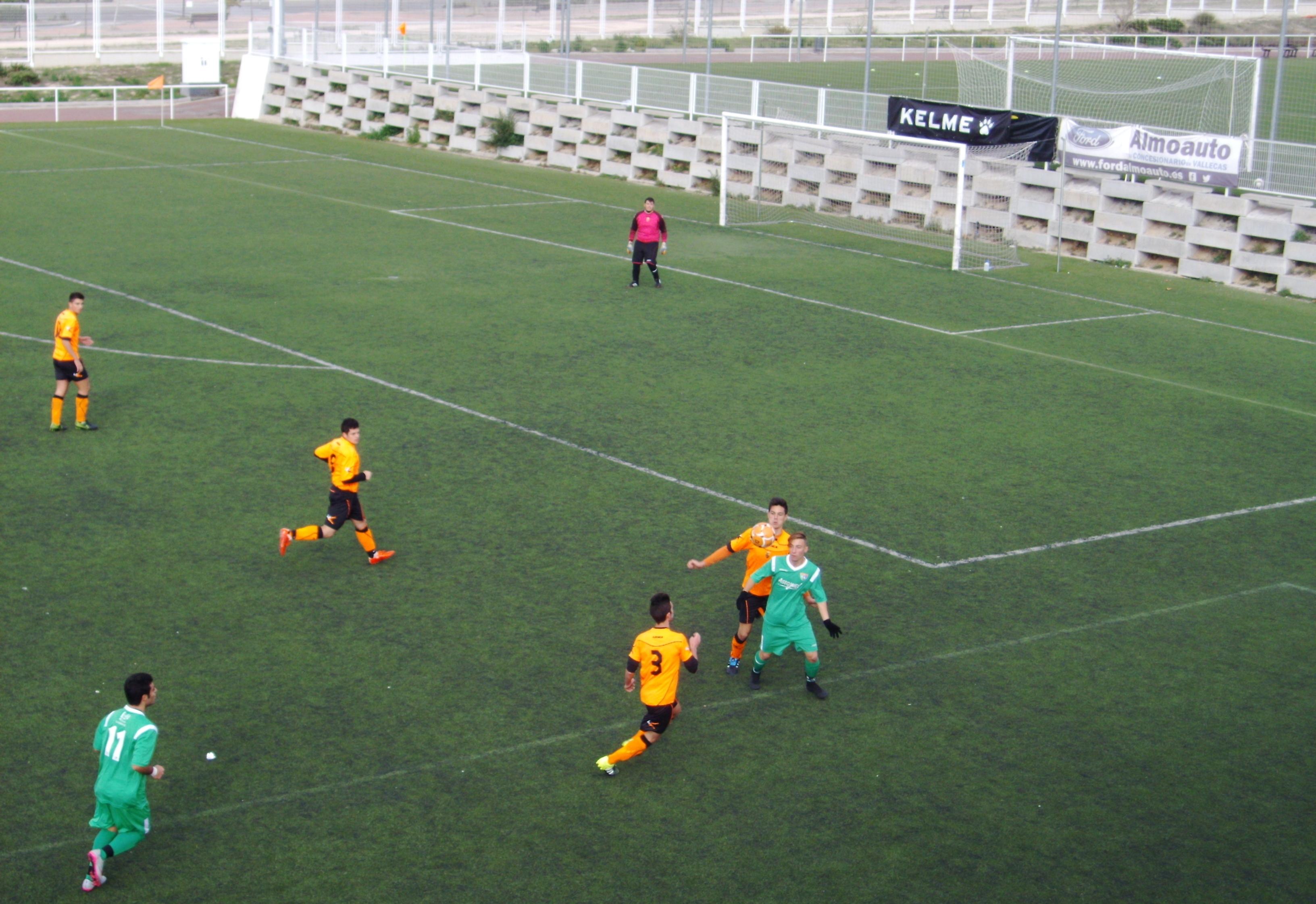 Crónica y fotos del partido de liga Sport Villa Vallecas 1 – 3 EDM Juvenil D