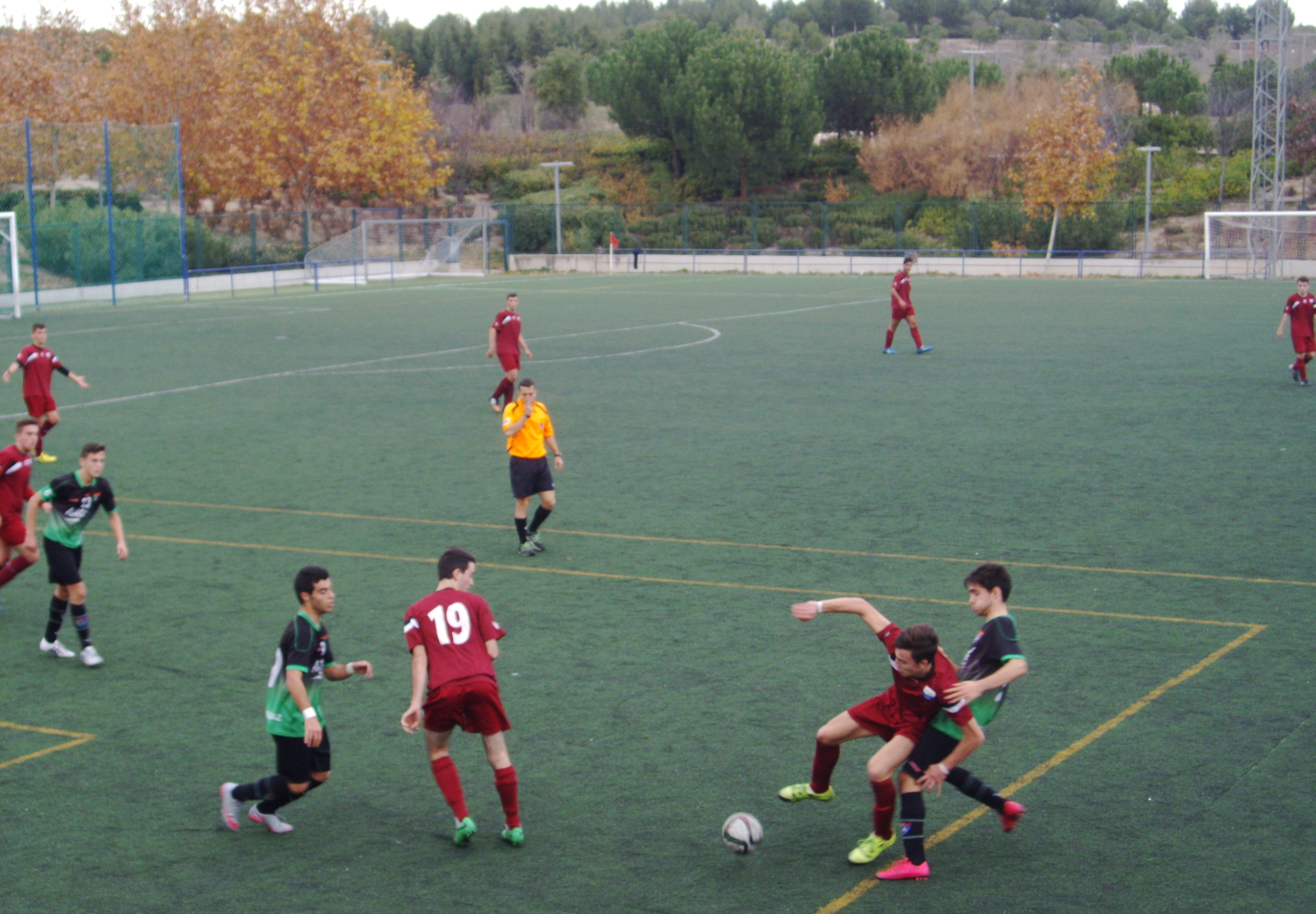 Crónica y fotos del partido de liga EDM Juvenil D 3 – 1 Parque Sureste