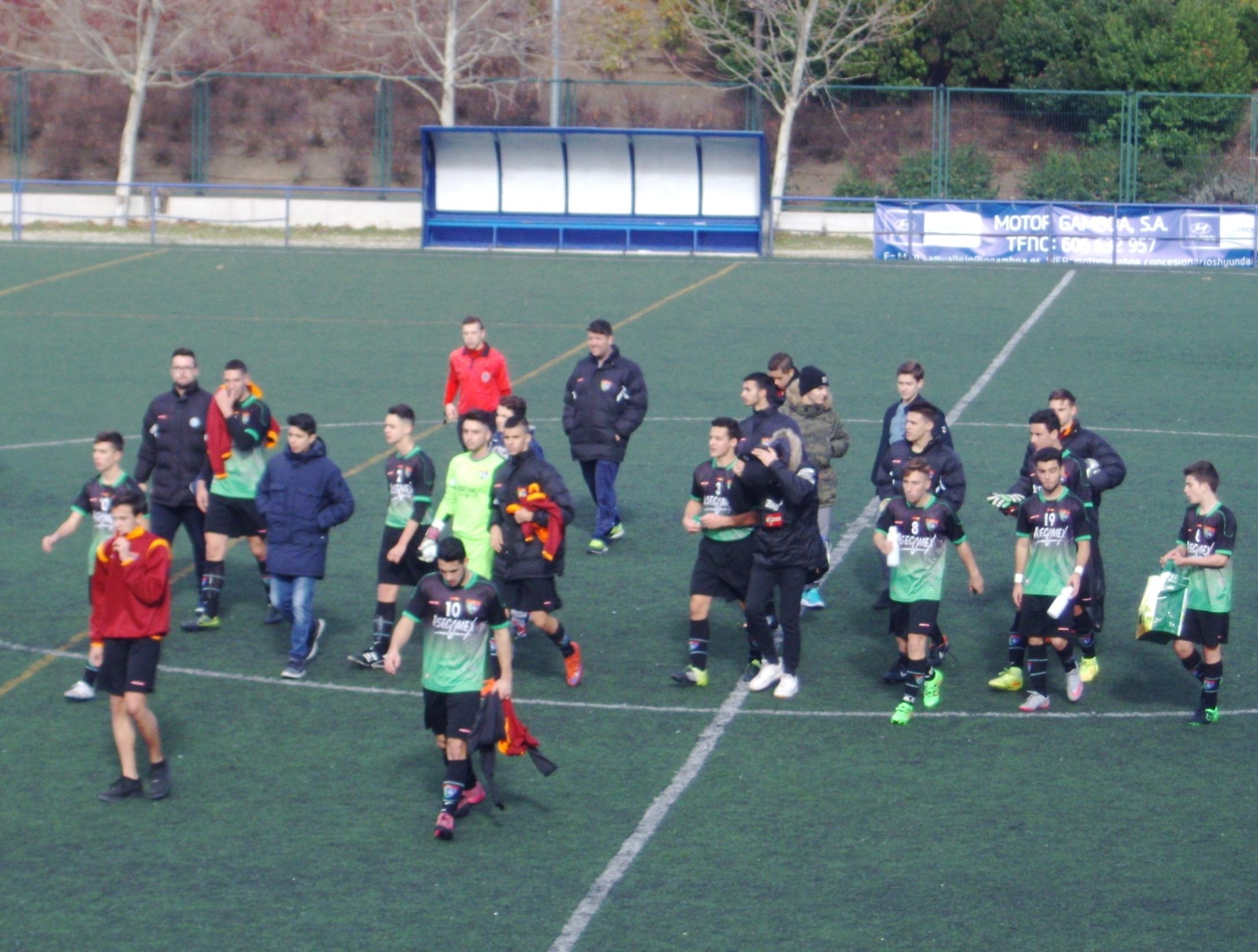 Crónica y fotos del partido de liga EDM Juvenil D 0 – 2 CD Vicálvaro C