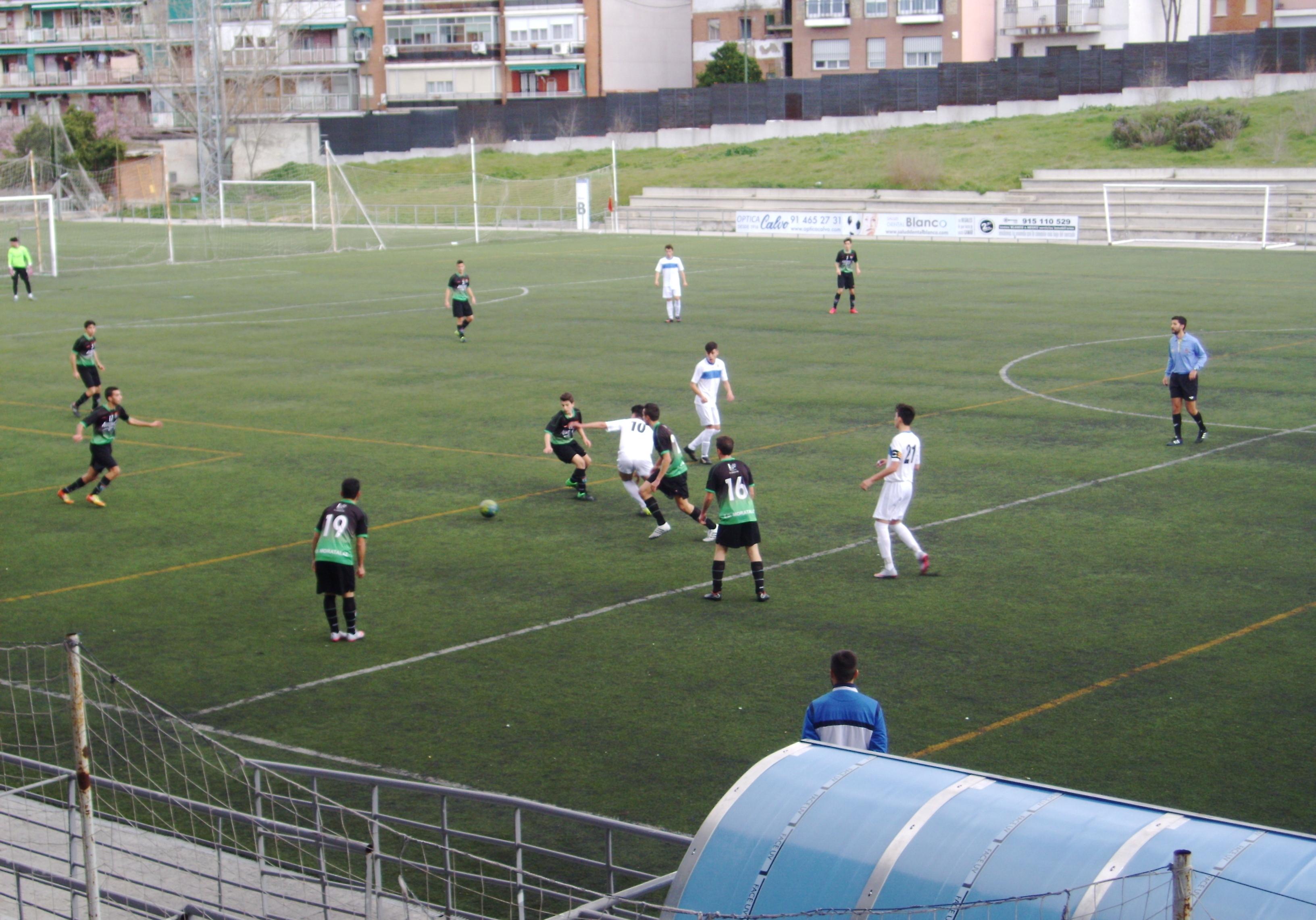 Crónica y fotos del partido de liga Puerta Bonita C 2 – 1 EDM Juvenil D
