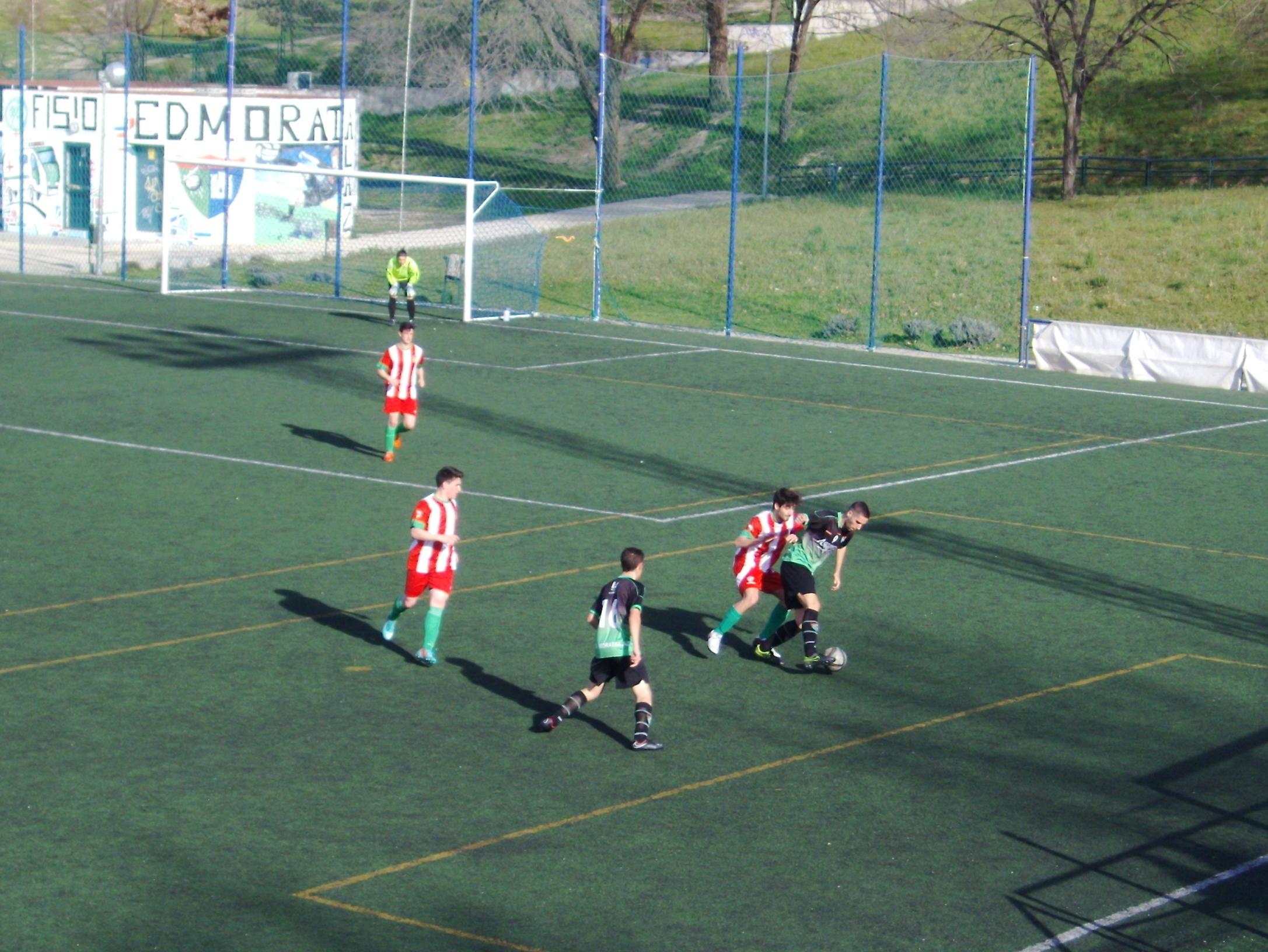 Crónica y fotos del partido de liga EDM Juvenil D 1 – 1 Atlético Cañada A