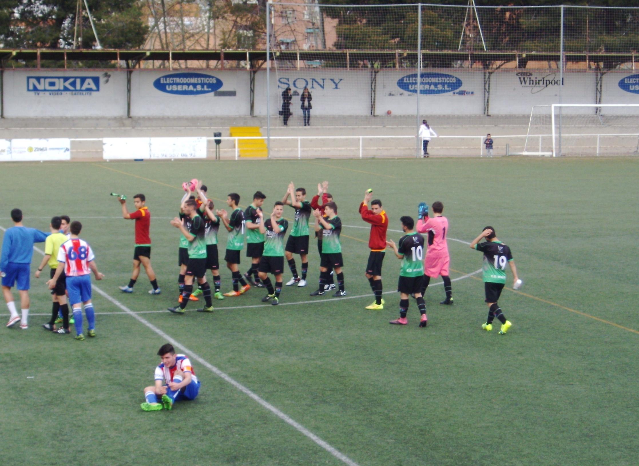 Crónica y fotos del partido de liga Colonia Moscardó C 0 – 1 EDM Juvenil D