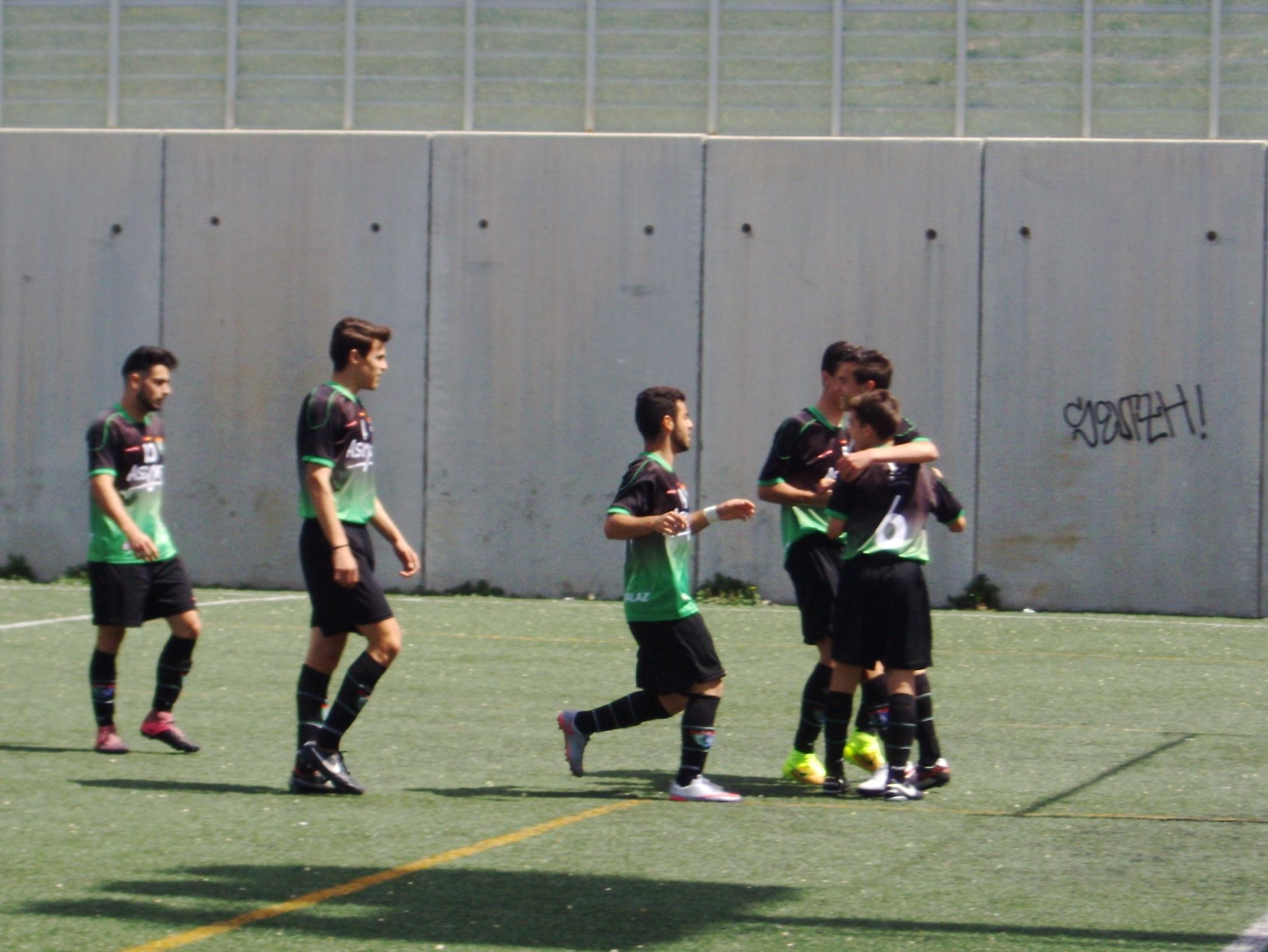 Crónica y fotos del partido de liga Parque Sureste 1 – 4 EDM Juvenil D