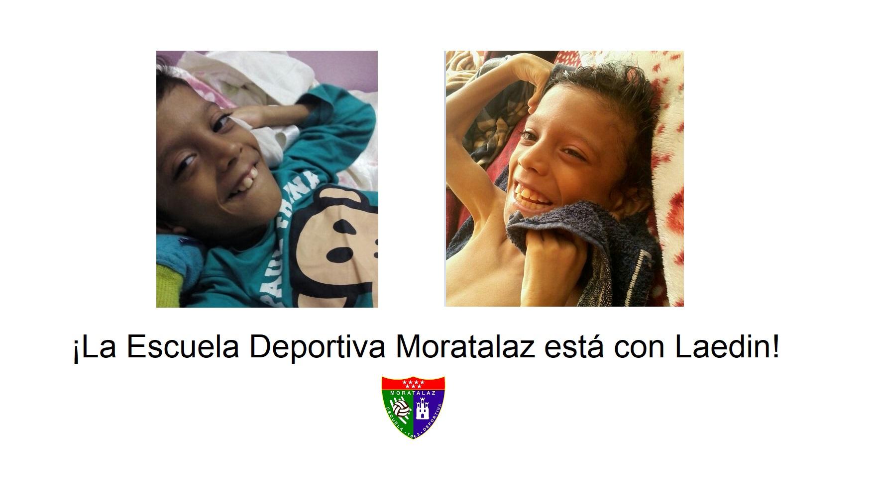 La ED Moratalaz ayudará a Laedin a conseguir su silla de ruedas