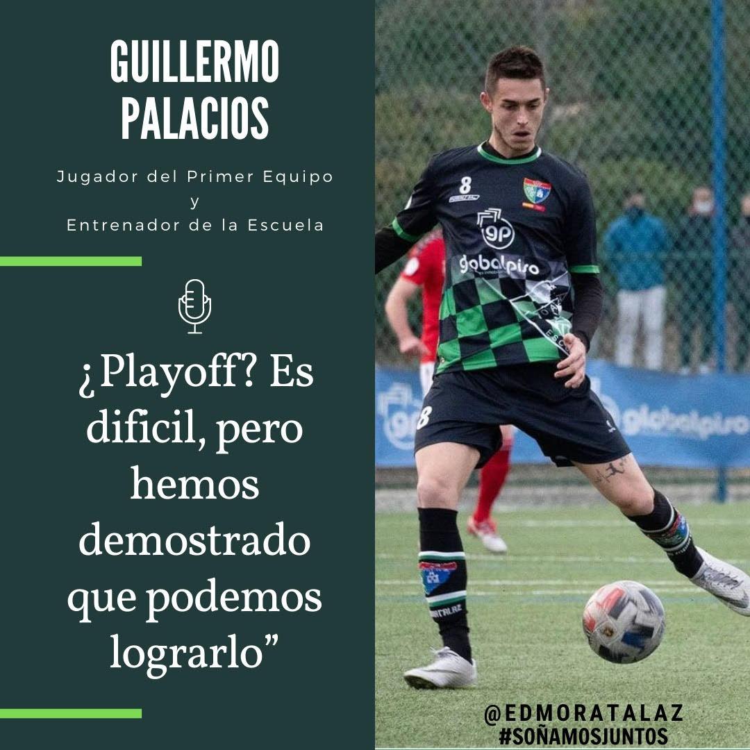 ENTREVISTA | Guillermo Palacios: ¿Playoff? Es difícil, pero hemos demostrado que podemos lograrlo»
