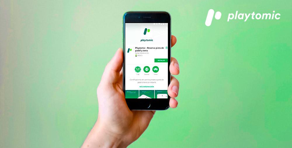 ¡Descargate la mejor App de Pádel y Tenis de Europa: Playtomic!