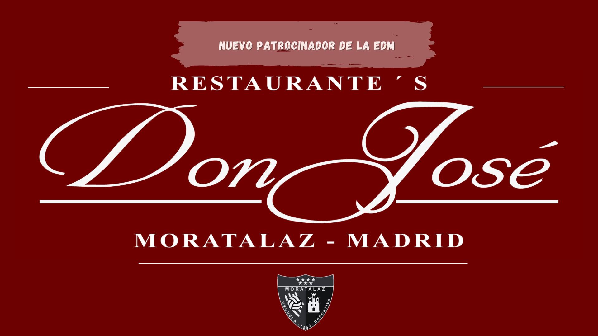 Nuevo patrocinador | Restaurante Don José