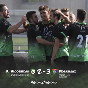 Rayo Alcobendas 2-3 Primer Equipo
